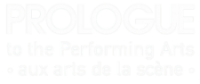 Prologue to the Performing Arts Logo