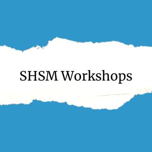 Specialist High Skills Major Workshops